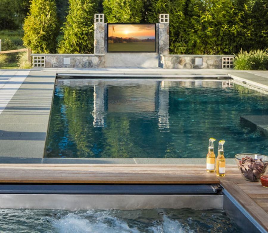 In the Market for an Outdoor TV? Here's What You Need to Know.